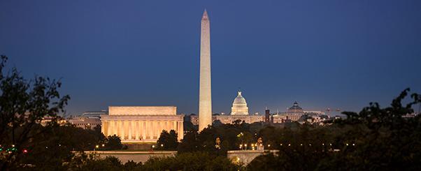 Photo of DC skyline