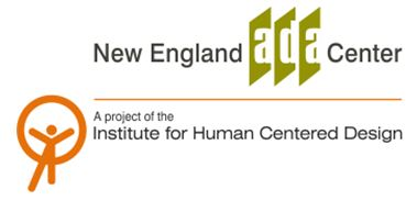 New England ADA Center and IHCD Graphic