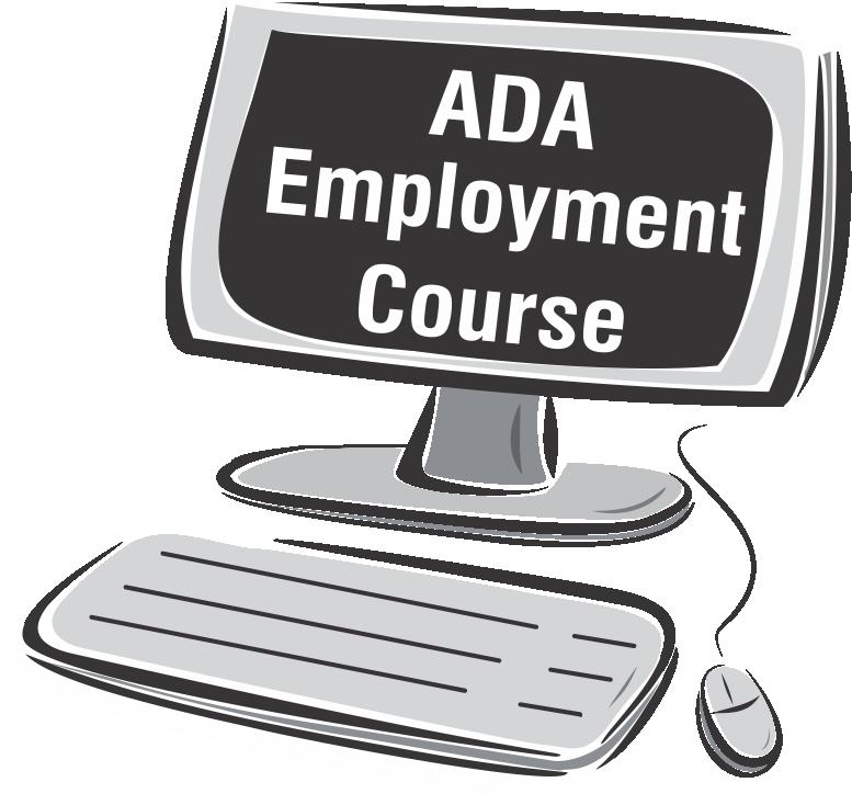 ADA Employment Course Online graphic