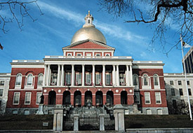 Image of the Massachusetts state house