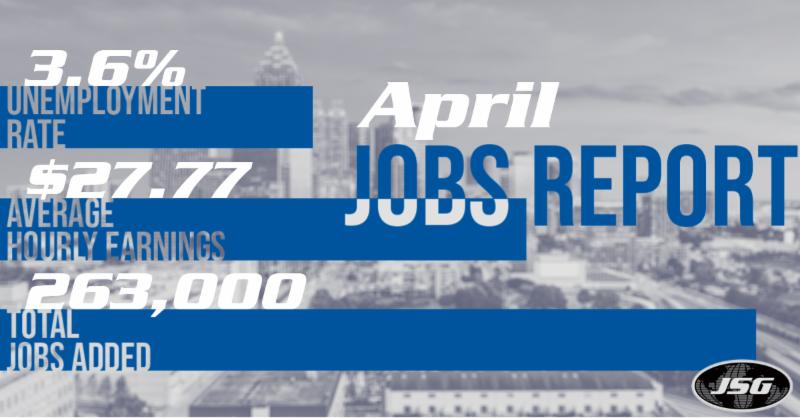April 2019 Jobs Report