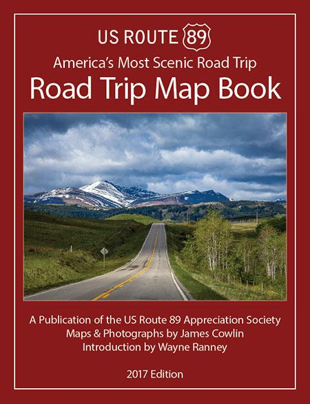 Along 89 New Road Trip Map Book Edition Travelstorys Mobile App - Us-route-89-map