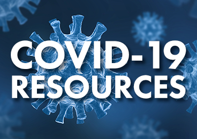 COVID-19 Resources graphic