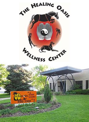 Healing Oasis Wellness Center logo and photo