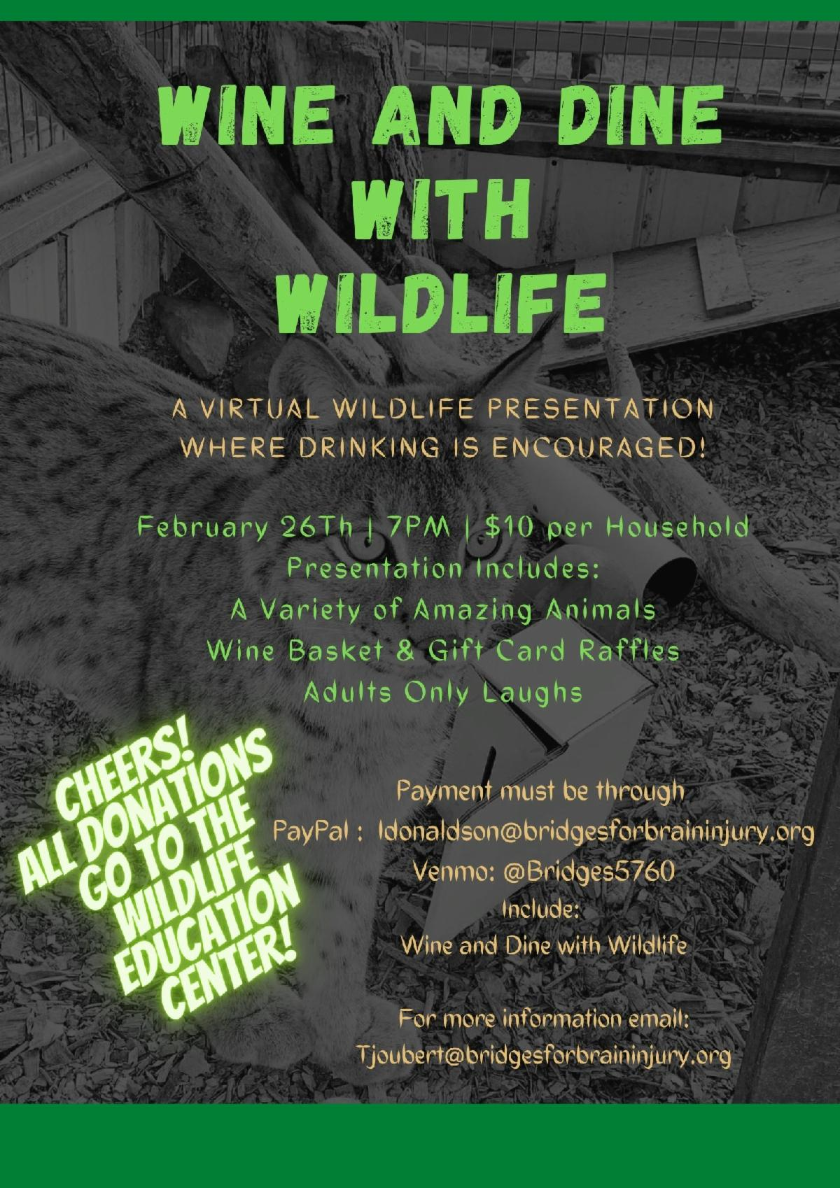 9d7f3929 5661 40f8 bb6e 73ca5b09b1fe - Wine And Dine With Wildlife Fundraising Event