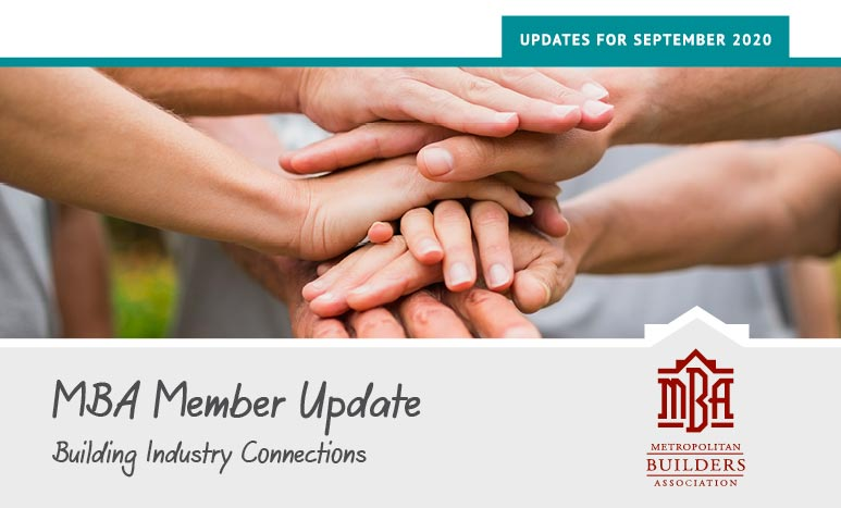 MBA Member Update
