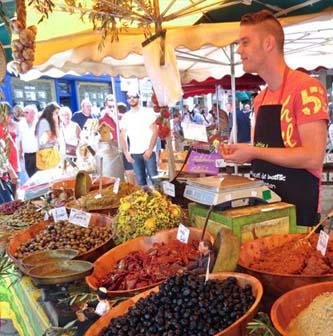 Explore local shops and markets