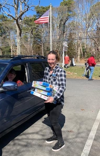 Curbside deliveries at Titcomb's