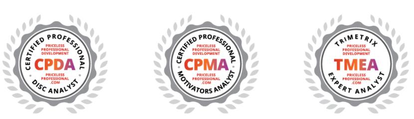 Assessment Certification Badges