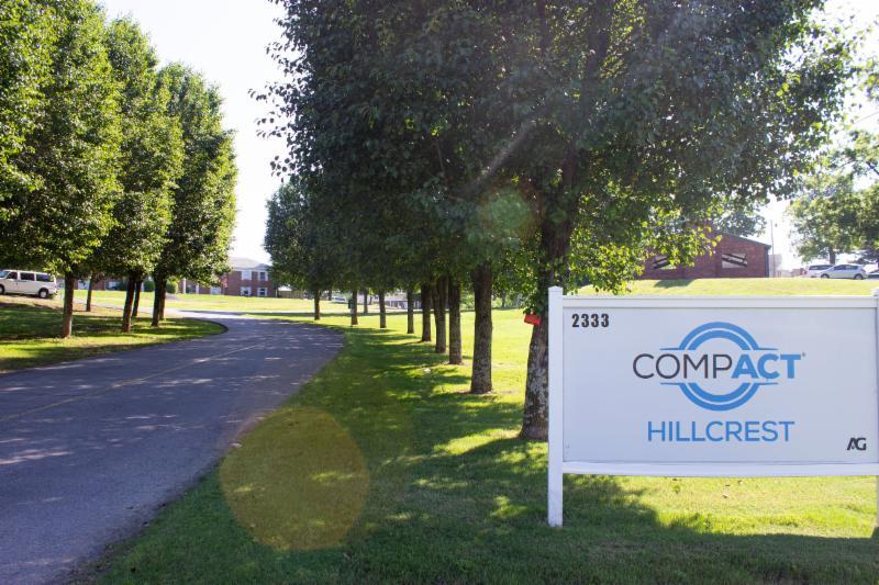 COMPACT Hillcrest campus entrance