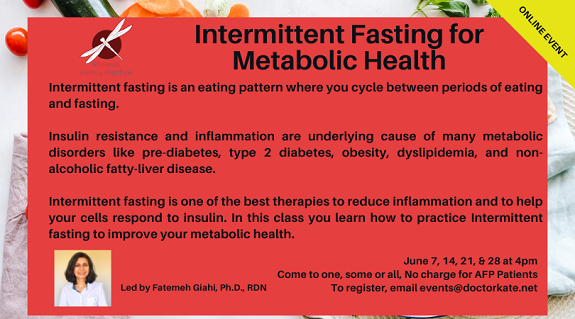 Intermittent Fasting Series June 7
