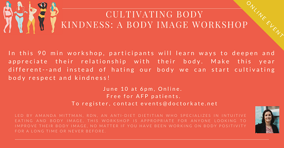 Cultivating Body Kindness