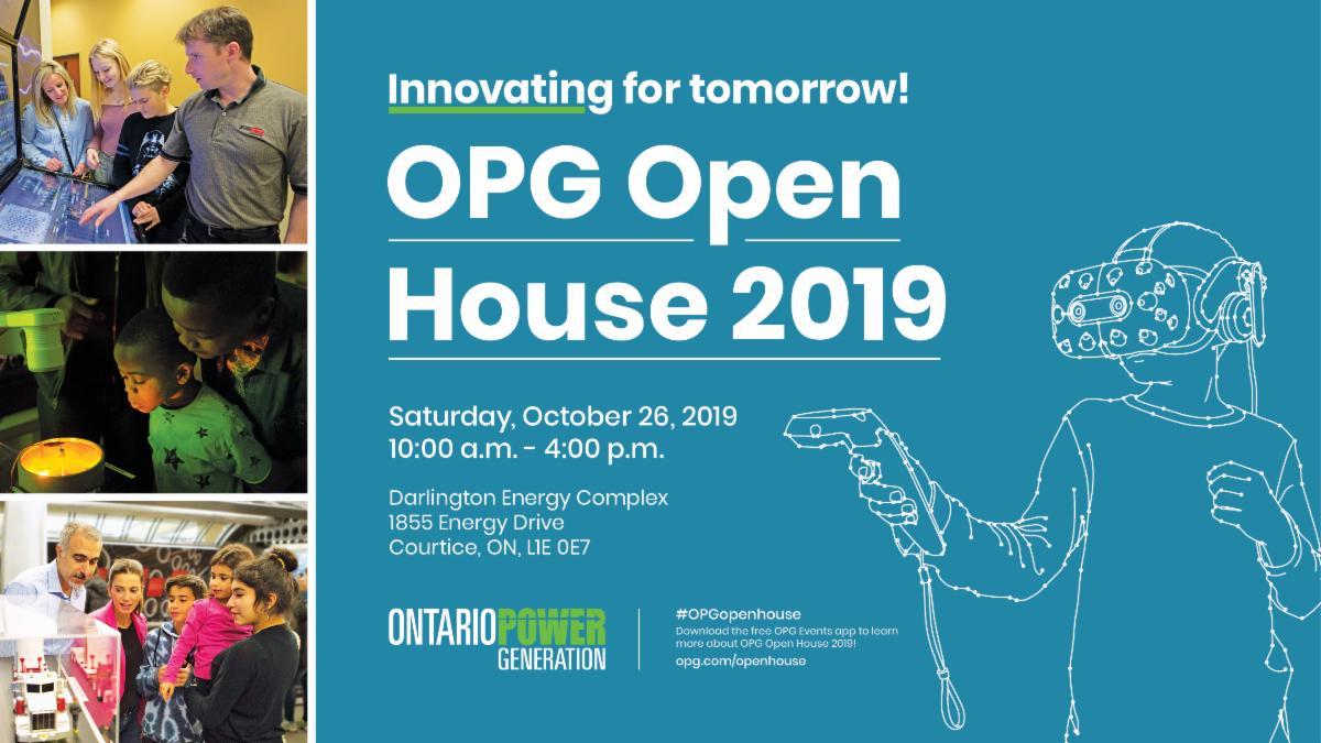Ontario Power Generation Open House flyer