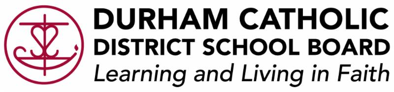 Durham Catholic District School Board's logo