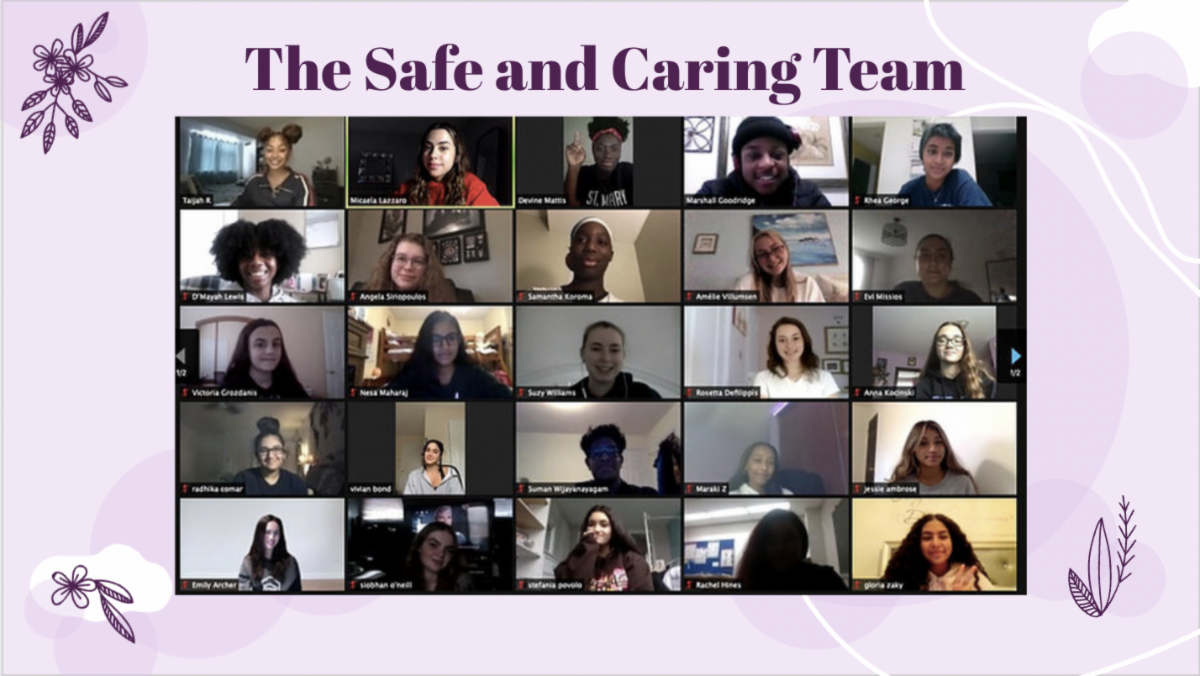 The Safe and Caring Team