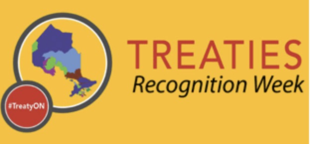 Treaties Recognition Week and map of Ontario