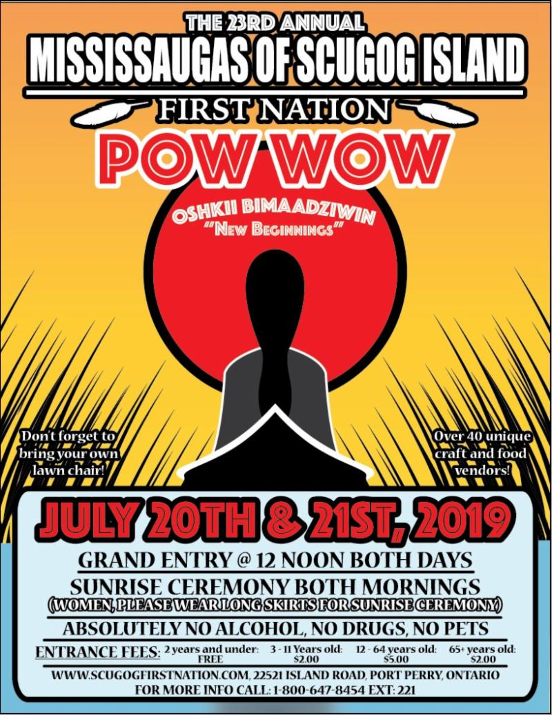 Mississauga of Scugog Island First Nations Pow Wow