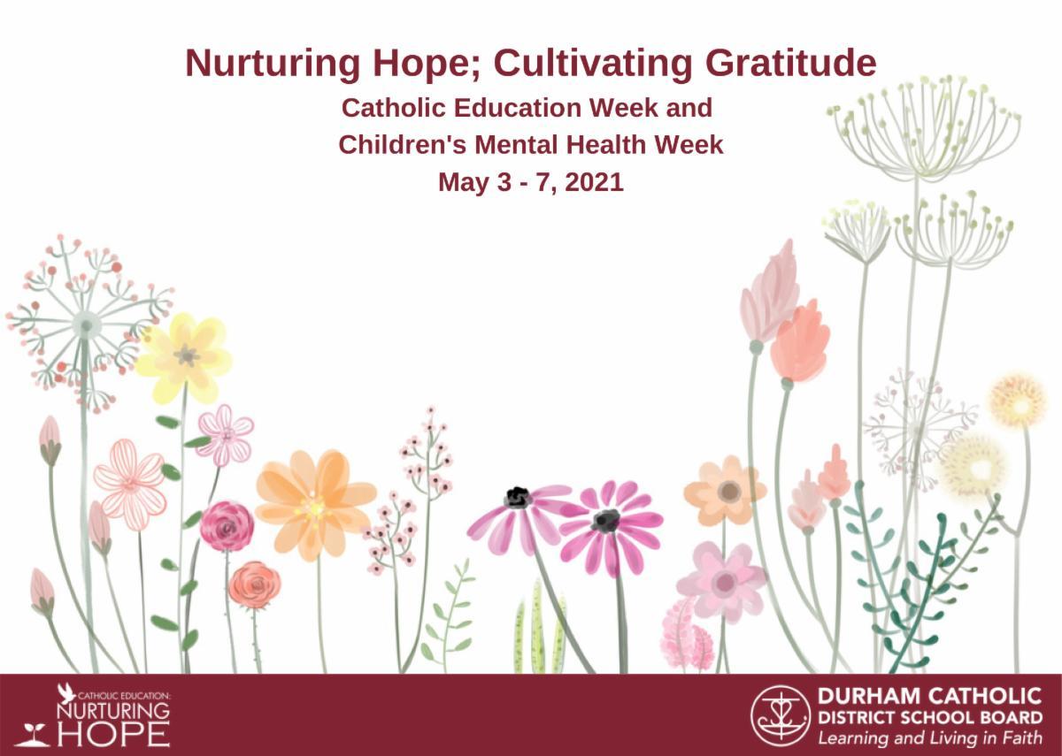Nurturing Hope; Cultivating Gratitude Postcard
