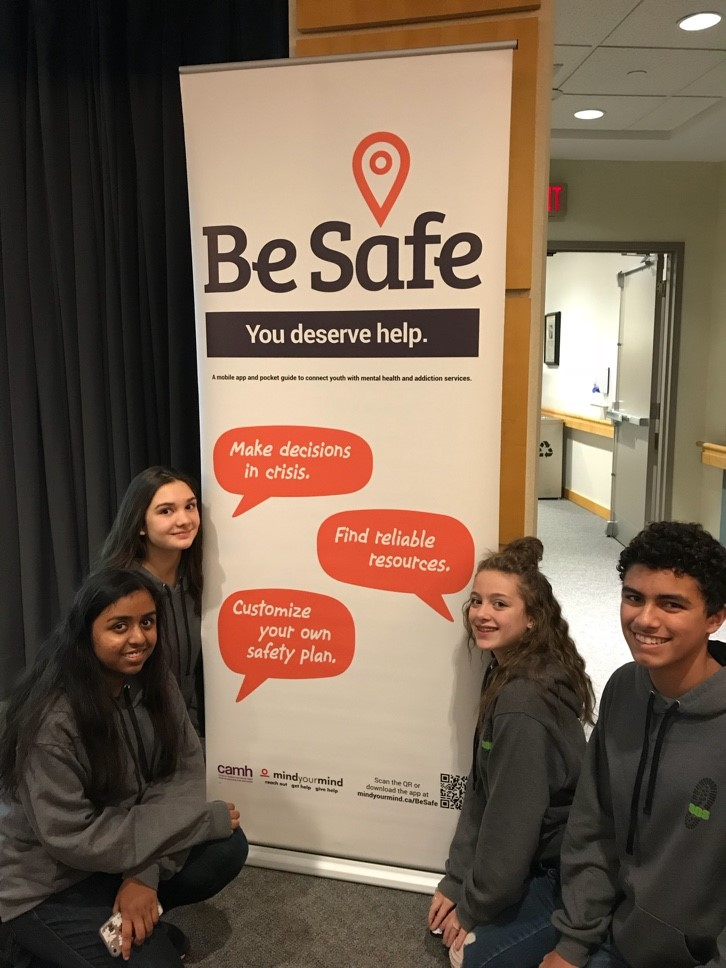 Students from All Saints Catholic Secondary School attend the TAMI Mental Health Summit
