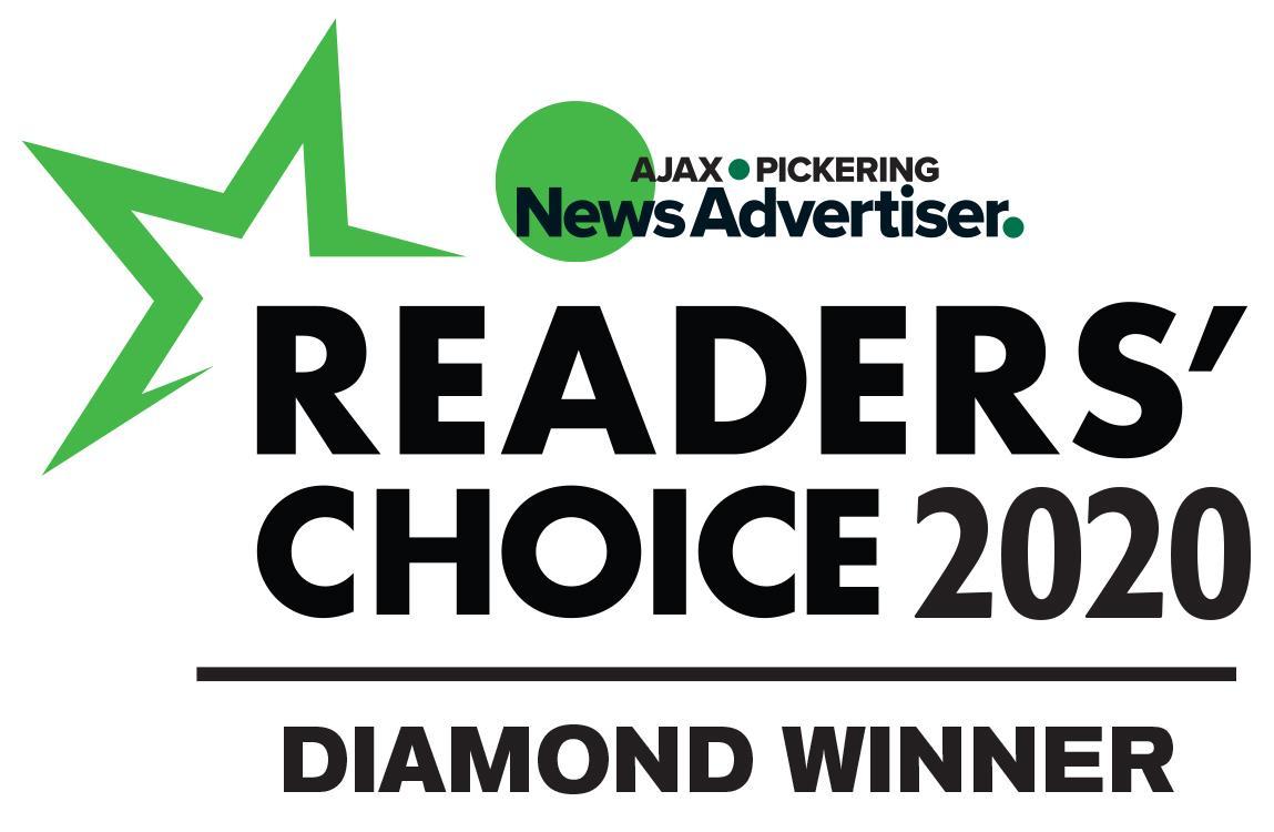 Diamond Winner for local newspapers Readers' Choice Awards
