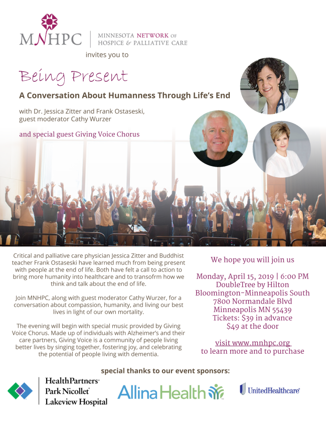 Flyer for MNHPC event April 15