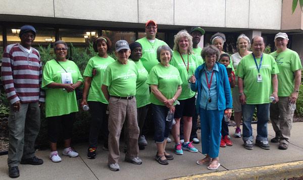 Phillips Wellness 50+ walkers