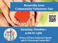 Roseville Area Community Volunteer Fair
