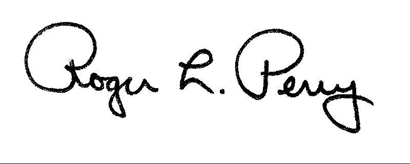 Perry Signature