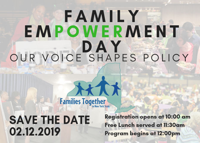 FED Save the date_ 2.12.19 at the Albany Capital Center. Registration _ 10. Lunch _ 11_30. Program start _ 12.