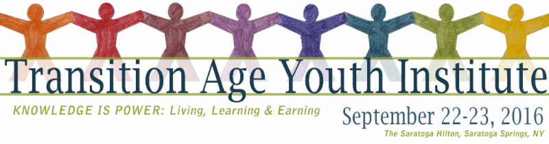 Transition Age Youth Institute 2016 banner