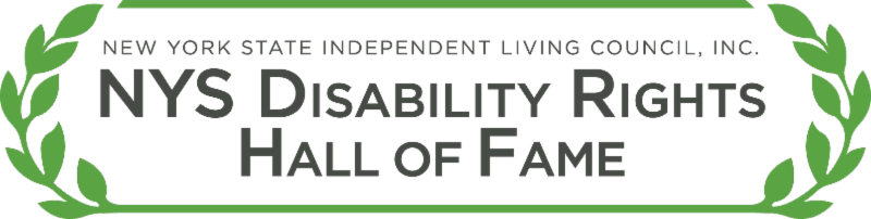 NYS Diability rights hall of fame