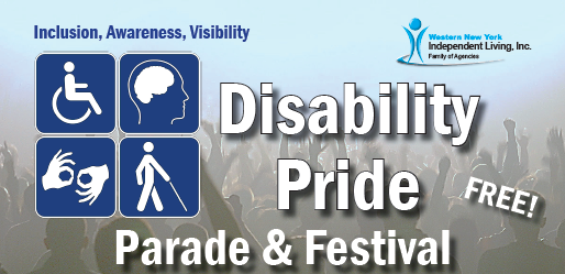 Western NY Disability Pride Parade Banner