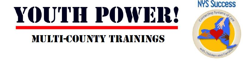 YP! and NYSS Logos with Multi-County Trainings underneath
