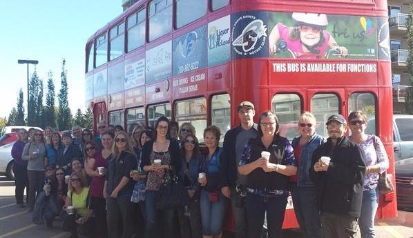Perks Coffee Bus