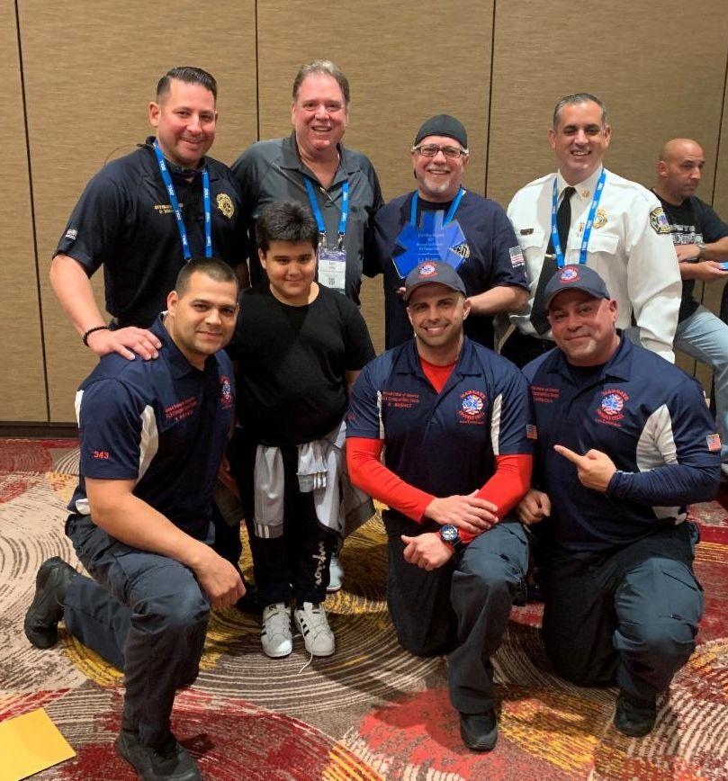 Fire ALS winning team