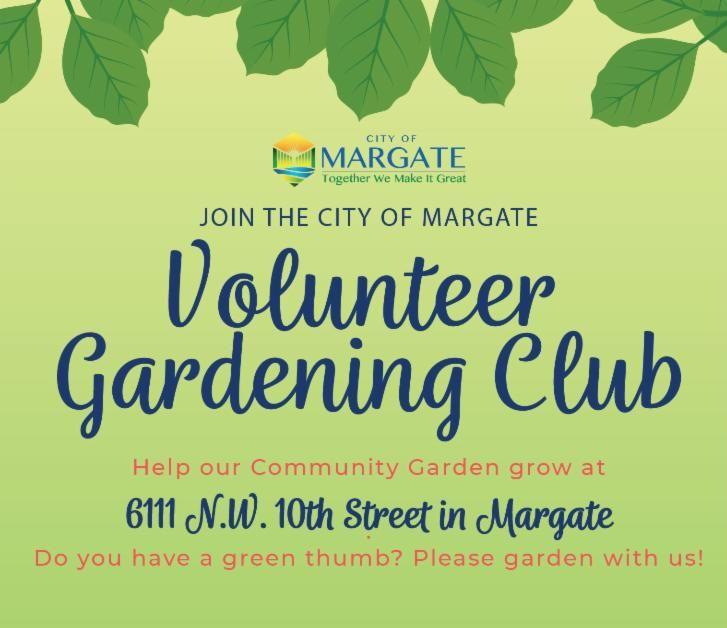 Volunteer gardening club