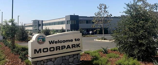 Welcome to Moorpark Sign