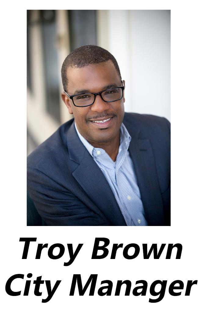 City Manager Troy Brown