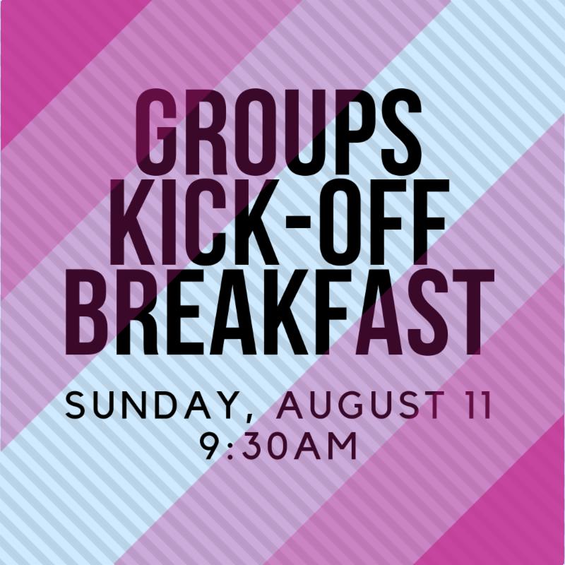 Student Groups Kick-off