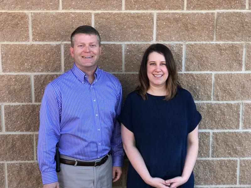 Scott and Emily join Blackstone Environmental