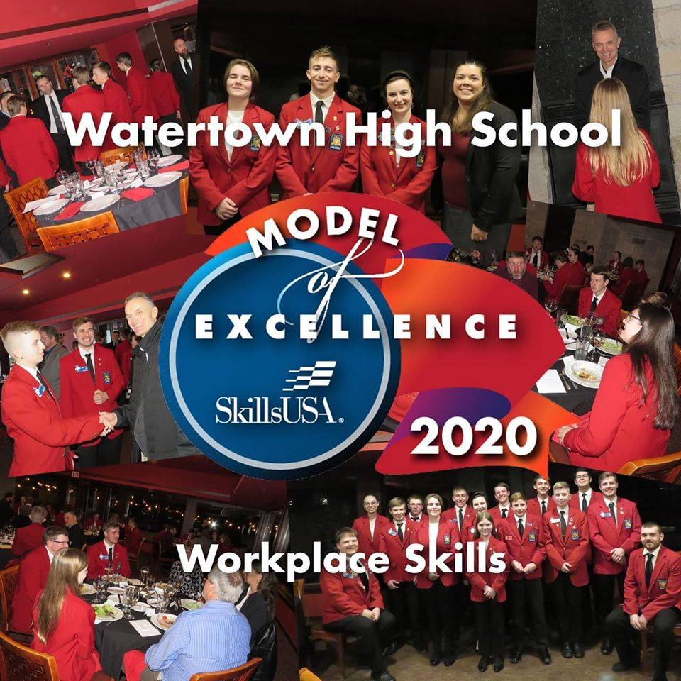 Watertown High School Model of Excellence 2020 Workplace Skills