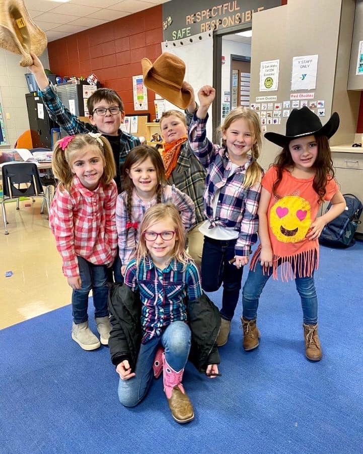 """Douglas Tigers help """"Round Up Some Kindness"""" during Great Kindness Challenge festivities."""