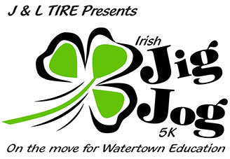 J&L Tire presents Irish Jig Jog 5K - on the move for Watertown Education