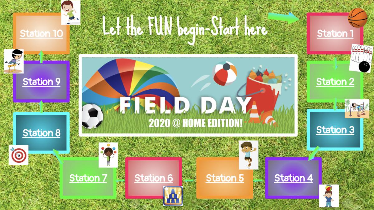 Douglas Elementary Field Day Interactive Presentation