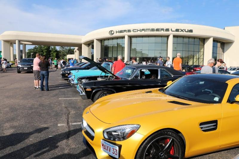 Cars and Coffee at Herb Chambers Lexus of Sharon