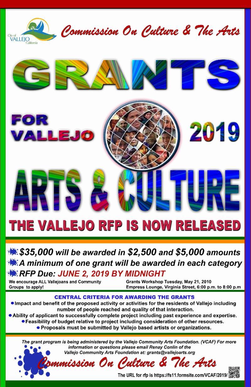arts and culture grant flyer