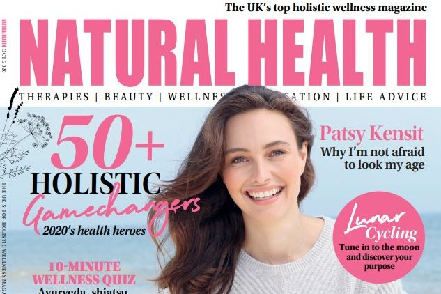 Pictured: Natural Health magazine cover