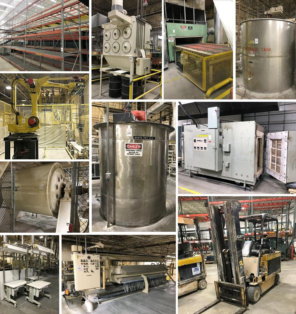Processing, Plant & Production Support Equipment