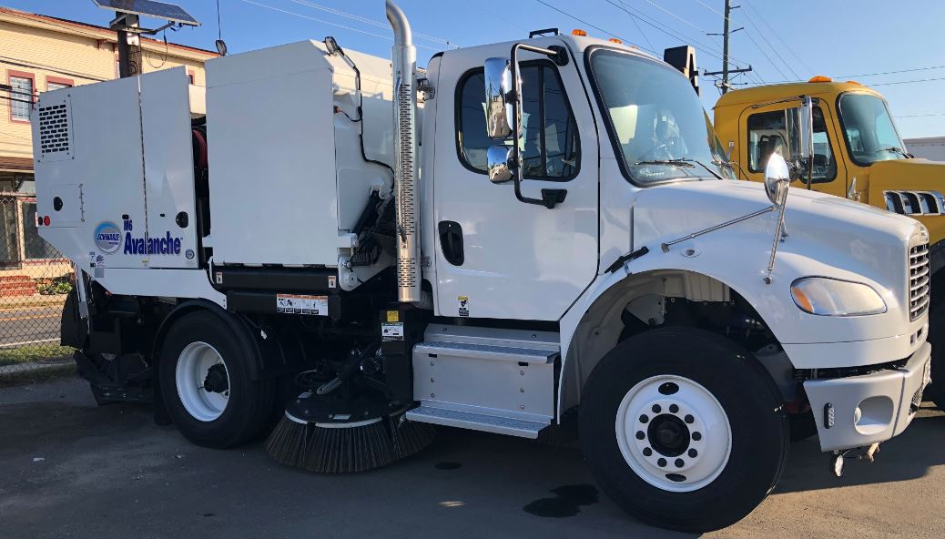 sweeper side view
