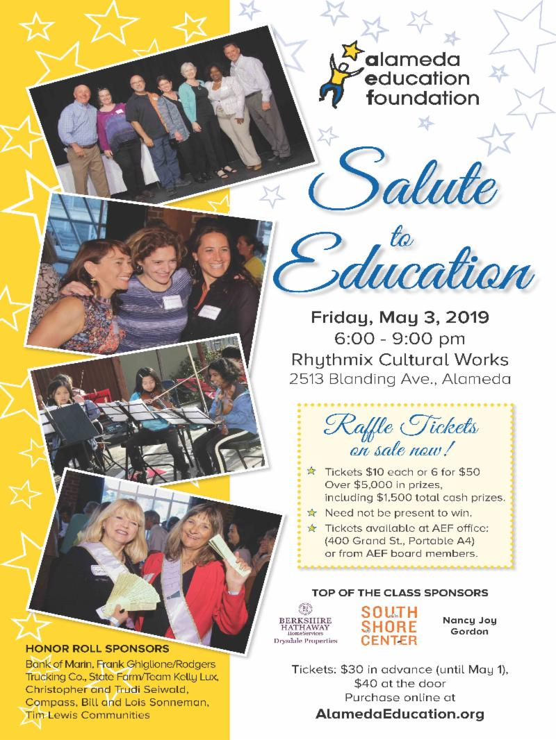 poster for Salute to Education